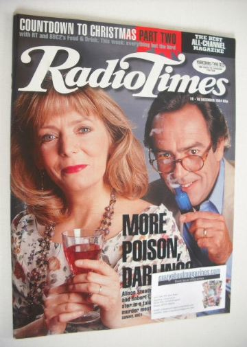 <!--1994-12-10-->Radio Times magazine - Robert Lindsay and Alison Steadman