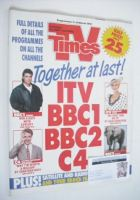 <!--1991-03-02-->TV Times magazine - Together At Last cover (2-8 March 1991)