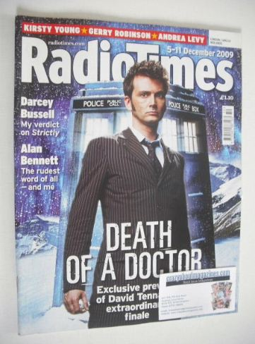 <!--2009-12-05-->Radio Times magazine - David Tennant cover (5-11 December