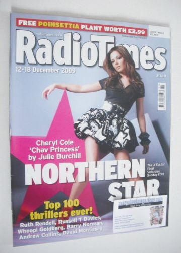 <!--2009-12-12-->Radio Times magazine - Cheryl Cole cover (12-18 December 2