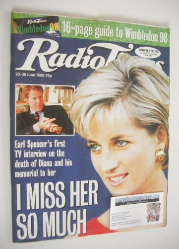 <!--1996-06-20-->Radio Times magazine - Princess Diana cover (20-26 June 19