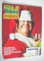 <!--1981-12-19-->TV Times magazine - Harry Secombe cover (19 December 1981 - 1 January 1982)