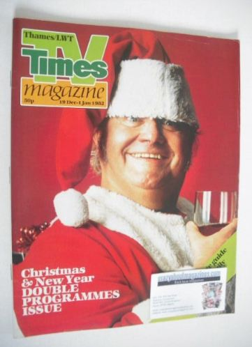 <!--1981-12-19-->TV Times magazine - Harry Secombe cover (19 December 1981