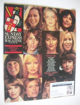Sunday Express magazine - 17 January 1982