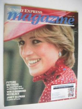 Sunday Express magazine - 14 February 1982 - Princess Diana cover