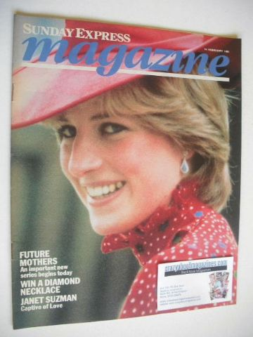 <!--1982-02-14-->Sunday Express magazine - 14 February 1982 - Princess Dian
