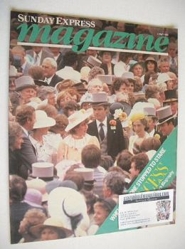 Sunday Express magazine - 2 May 1982 - Princess Diana cover
