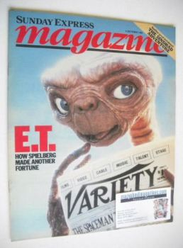Sunday Express magazine - 3 October 1982 - E.T. cover