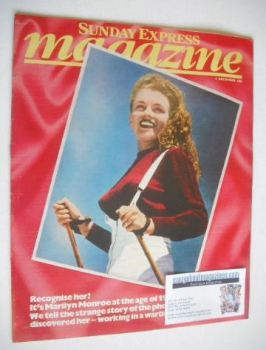 Sunday Express magazine - 4 December 1983 - Marilyn Monroe cover