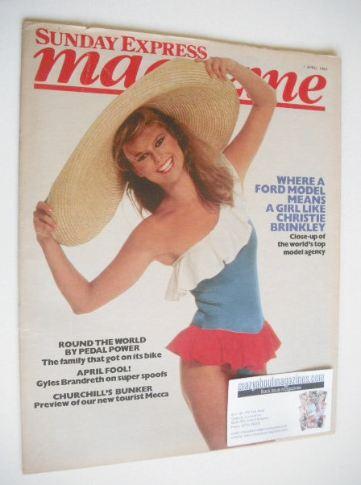 <!--1984-04-01-->Sunday Express magazine - 1 April 1984 - Christie Brinkley