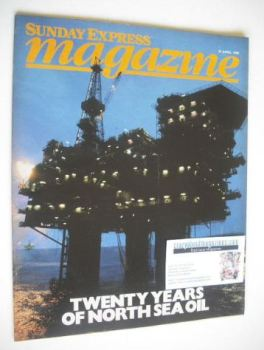 <!--1984-04-29-->Sunday Express magazine - 29 April 1984 - North Sea Oil cover