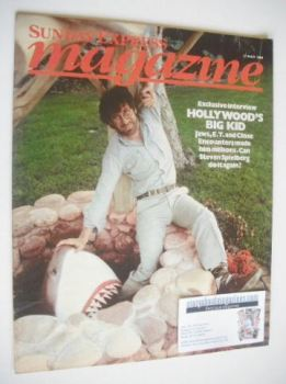 <!--1984-05-27-->Sunday Express magazine - 27 May 1984 - Steven Spielberg cover