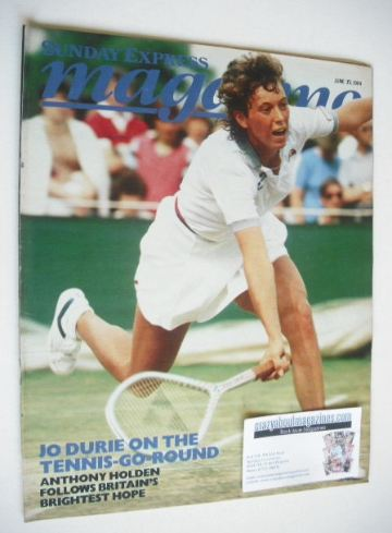 <!--1984-06-17-->Sunday Express magazine - 17 June 1984 - Jo Durie cover