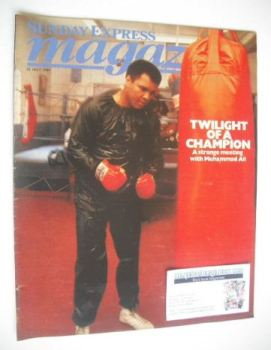 <!--1984-07-22-->Sunday Express magazine - 22 July 1984 - Muhammad Ali cover