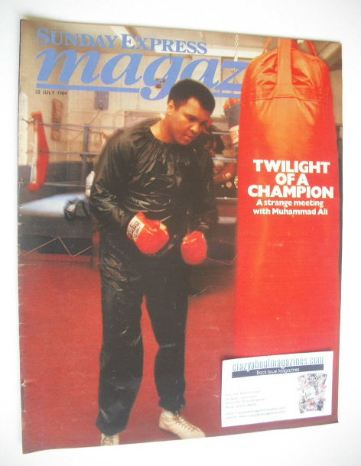 <!--1984-07-22-->Sunday Express magazine - 22 July 1984 - Muhammad Ali cove