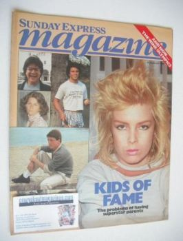 <!--1984-08-12-->Sunday Express magazine - 12 August 1984 - Kids of Fame cover