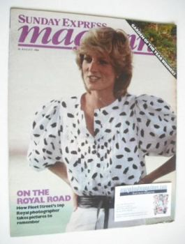 <!--1984-08-26-->Sunday Express magazine - 26 August 1984 - Princess Diana cover
