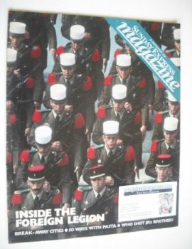 <!--1984-09-23-->Sunday Express magazine - 23 September 1984 - Inside The Foreign Legion cover