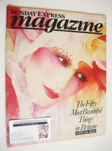 <!--1985-05-12-->Sunday Express magazine - 12 May 1985 - 50 Most Beautiful