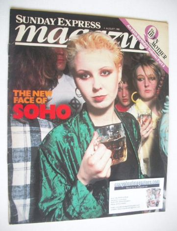 <!--1985-08-04-->Sunday Express magazine - 4 August 1985 - The New Face Of