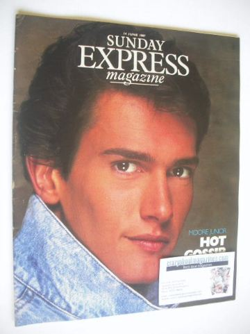 <!--1987-06-14-->Sunday Express magazine - 14 June 1987 - Geoffrey Moore co