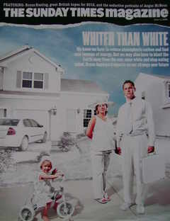 <!--2006-06-11-->The Sunday Times magazine - Whiter Than White cover (11 Ju
