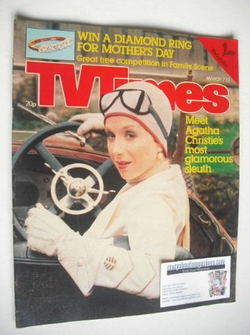 <!--1981-03-07-->TV Times magazine - Cheryl Campbell cover (7-13 March 1981