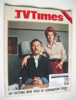 TV Times magazine - Coronation Street cover (4-10 December 1971)