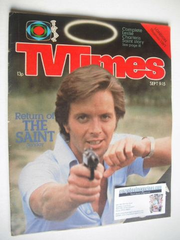 <!--1978-09-09-->TV Times magazine - Ian Ogilvy cover (9-15 September 1978)