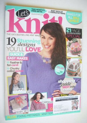 <!--2012-03-->Let's Knit magazine (March 2012 - Issue 52)