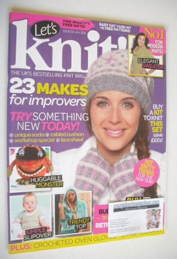 <!--2012-01-->Let's Knit magazine (January 2012 - Issue 50)