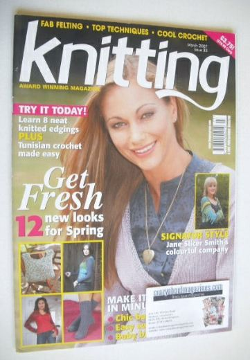 <!--2007-03-->Knitting magazine (March 2007 - Issue 35)