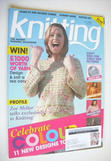 <!--2006-06-->Knitting magazine (June 2006 - Issue 25)