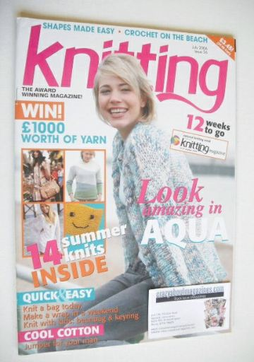 <!--2006-07-->Knitting magazine (July 2006 - Issue 26)