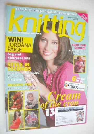 <!--2006-09-->Knitting magazine (September 2006 - Issue 28)
