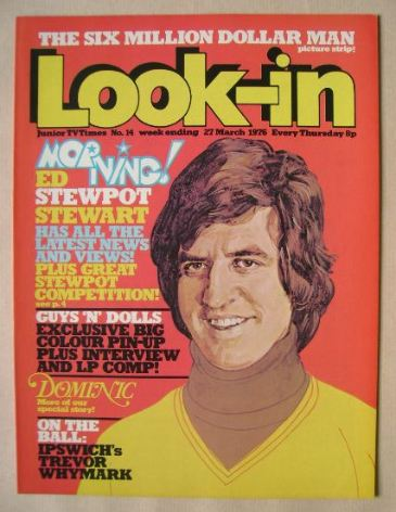 <!--1976-03-27-->Look In magazine - Ed Stewart cover (27 March 1976)
