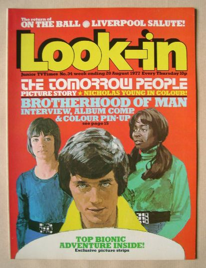 <!--1977-08-20-->Look In magazine - 20 August 1977