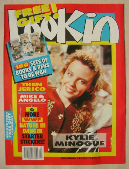 <!--1989-03-25-->Look In magazine - Kylie Minogue cover (25 March 1989)