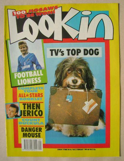 <!--1989-02-25-->Look In magazine - 25 February 1989