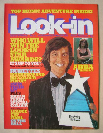 <!--1977-03-12-->Look In magazine - 12 March 1977