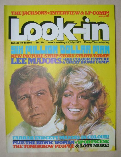 <!--1977-07-23-->Look In magazine - 23 July 1977