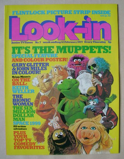 <!--1977-02-12-->Look In magazine - 12 February 1977