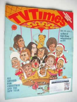 TV Times magazine - Christmas Issue (20 December 1975 - 2 January 1976)