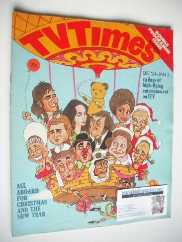 <!--1975-12-20-->TV Times magazine - Christmas Issue (20 December 1975 - 2