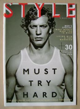 Style magazine - Billy Twelvetrees cover (16 March 2014)