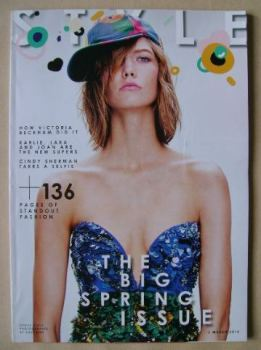 Style magazine - Karlie Kloss cover (2 March 2014)