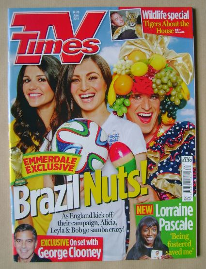 <!--2014-06-14-->TV Times magazine - Natalie Anderson, Roxy Shahidi and Ton