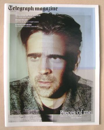 <!--2015-10-10-->Telegraph magazine - Colin Farrell cover (10 October 2015)