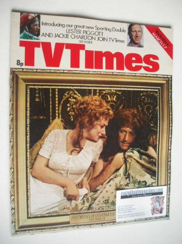 <!--1975-03-01-->TV Times magazine - Old English Fun cover (1-7 March 1975)