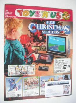 Toys R Us Christmas advertisement supplement 1989